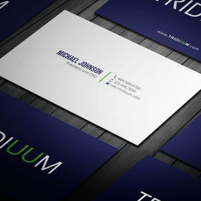 Design double sided magnificent business cards for you by namsohan colourmoves
