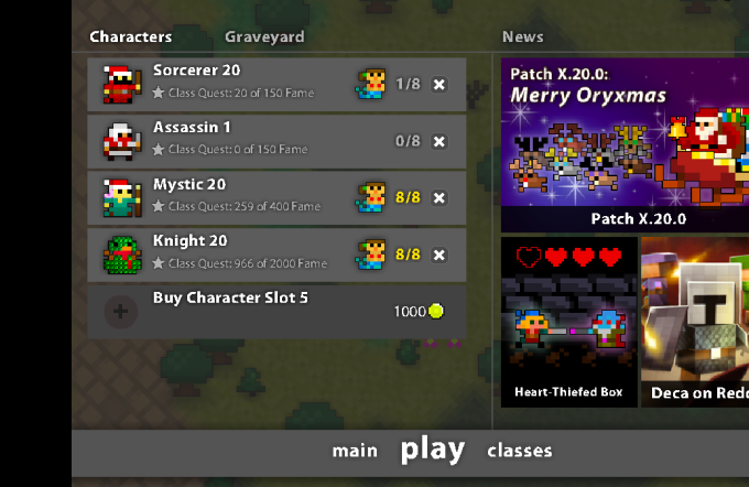sell you a great rotmg account by tmbr69