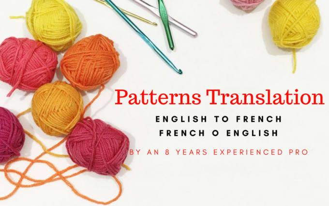 Translate Your Crochet Patterns By Merysf
