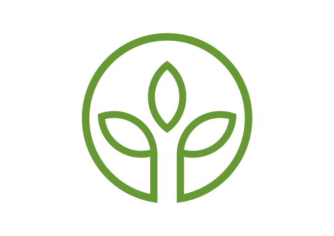 create a logo of freshness health and environmentally friendly for