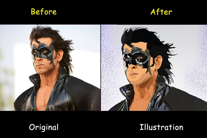 sgdesignss : I will convert your pic into illustration for $15 on  www fiverr com