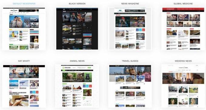 Create magazine website by newspaper wordpress theme by Miftah129