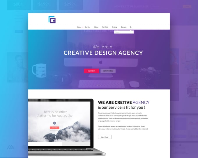 design responsive html5 and css3 tamplet by yori48