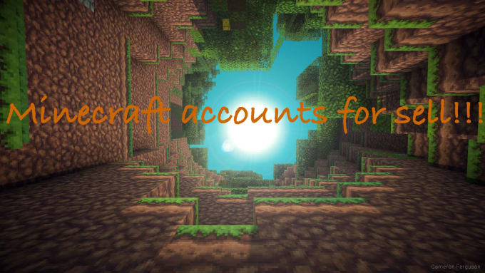 sell minecraft accounts for cheap