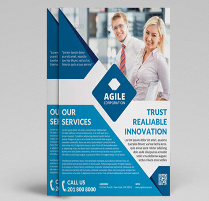 create a creative corporate flyer design by salgital