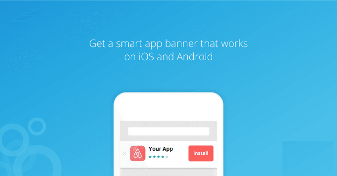 integrate android and IOS smart banner to your website