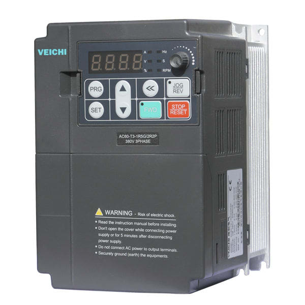 Tutor electric motor controls through variable frequency drive by ...