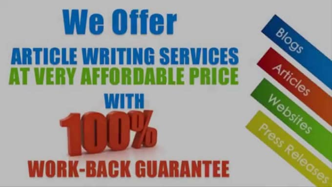 high quality article writing services High quality article writing services for quality and reliable academic papers, we offer the best service with writers who have extensive experience in meeting tight deadlines.
