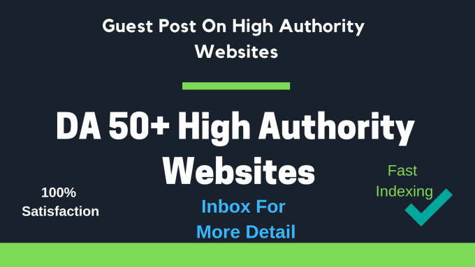 publish guest post on high authority sites