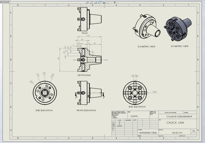 yeukai5050 : I will do 3d and manufacturing drawings for sheet metal using  inventor or solidworks for $50 on www fiverr com