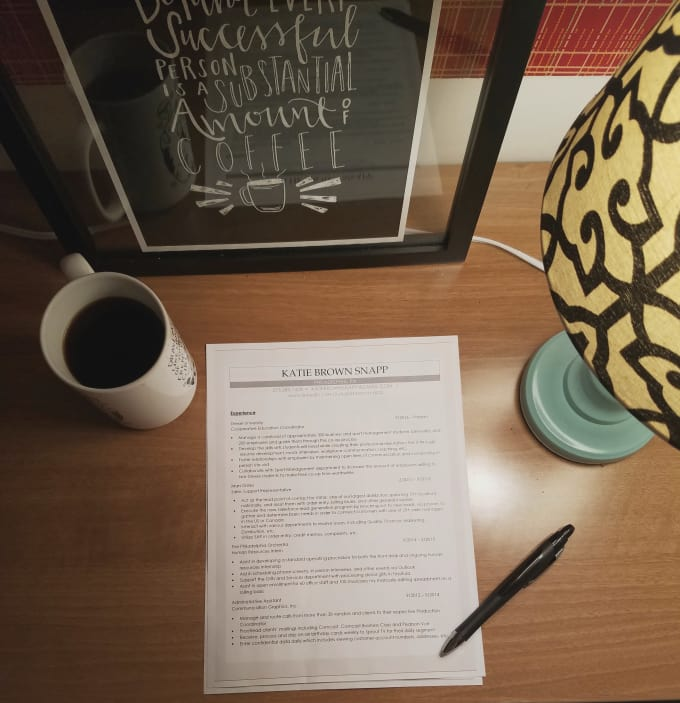 revamp your resume to help you land a job by katiebrownsnapp