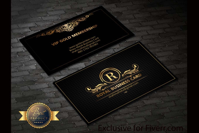 provide luxury business card - Luxury Business Cards