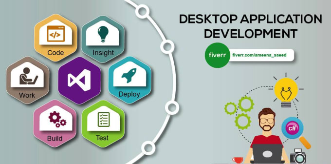 ameena_saeed : I will solve problems related to desktop applications for  $20 on www fiverr com