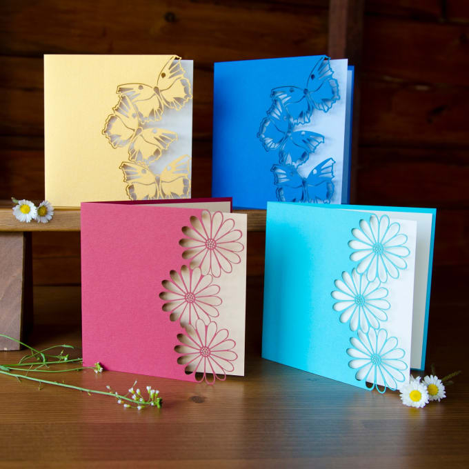 create new year greeting cards as you wish