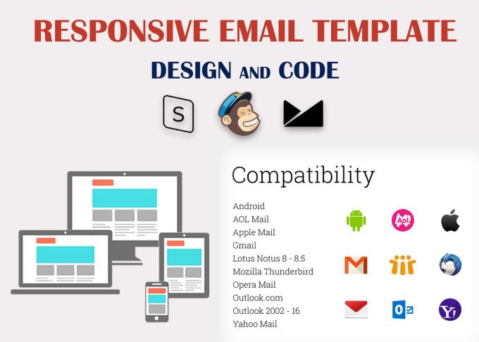 Design Responsive Html Email Template By Pranavan