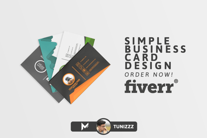 Design Simple And Elegant Business Card Template By Tunizzz