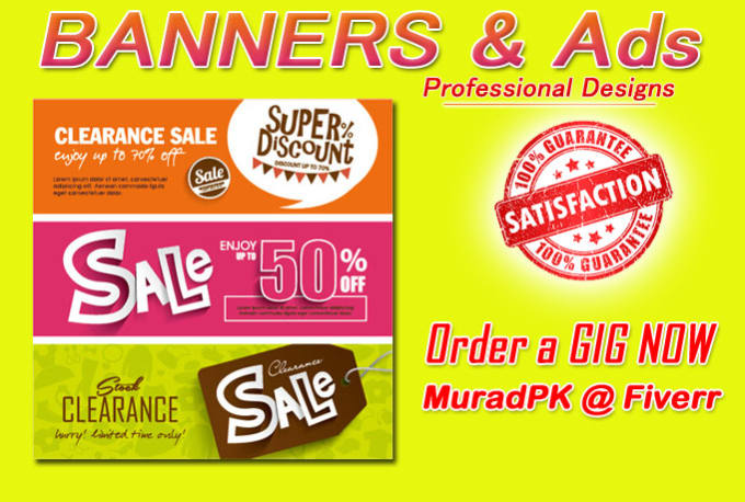 Professional Design Banners Cross Banners