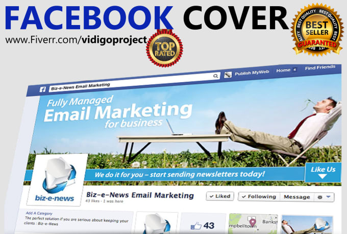 design professional facebook cover for online promotions