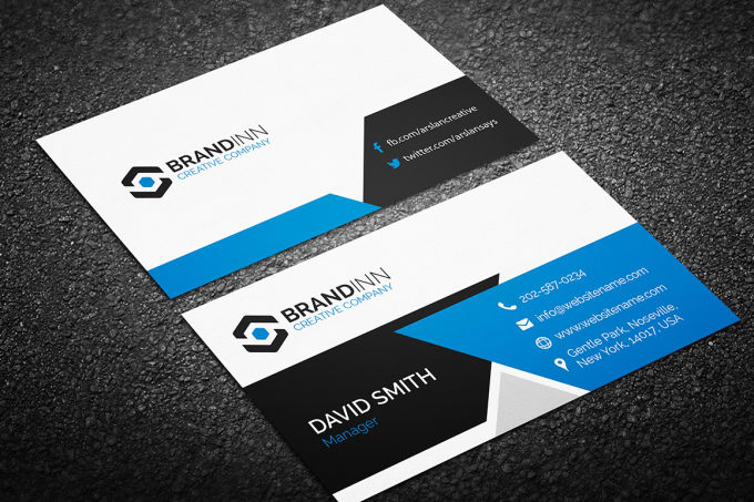Design a professional double sided business card by tanniahnaf design a professional double sided business card colourmoves