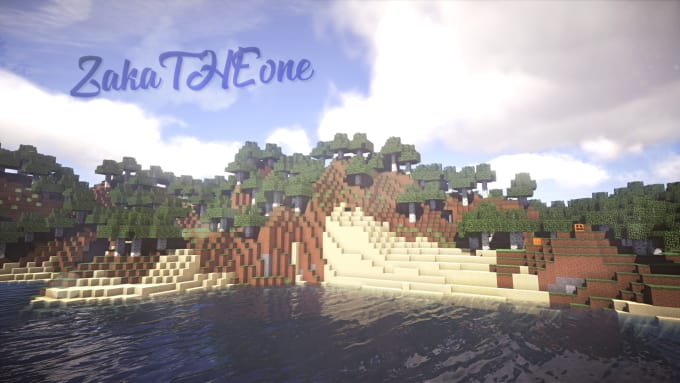 Make a custom minecraft wallpaper with