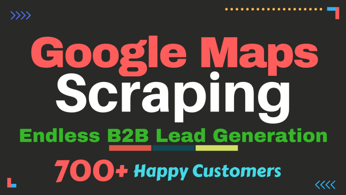 scrape google maps b2b leads with all details