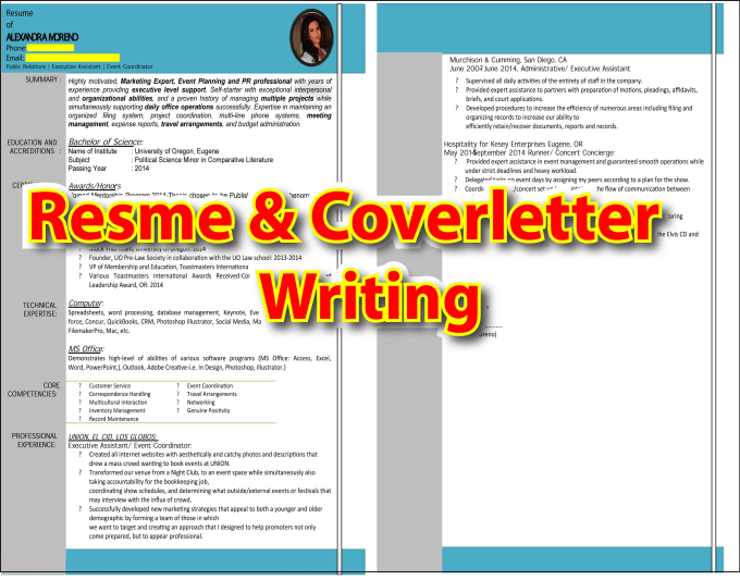 Present Professional Resume And Cover Letter Writing By Mamun7869