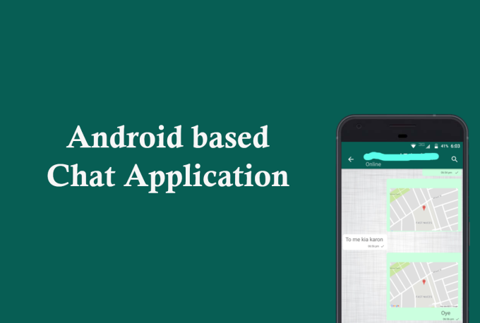 develop an android chat app