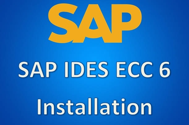 give you sap ides ecc 6 installed on vmware