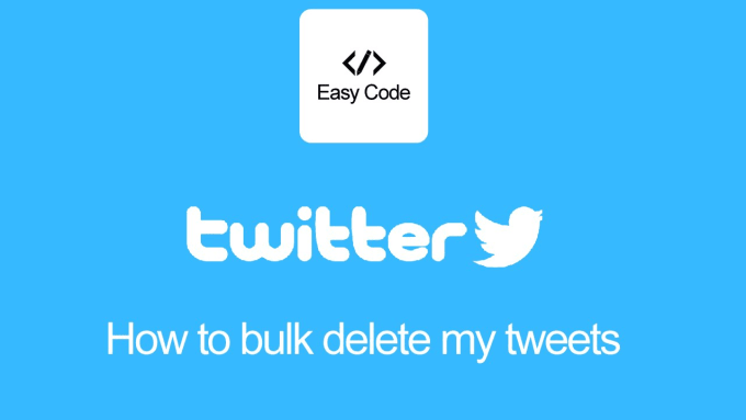 delete all tweets from your twitter account or selective by loai44