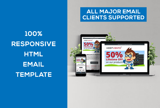 Design Responsive Html Email Template By Designerab - Create html email template online