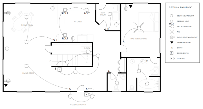 create floor plan and electrical drawing in autocad 2d by almahaworks