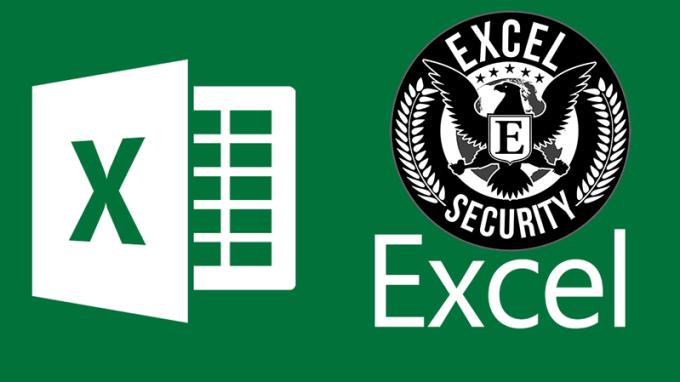 excel secure