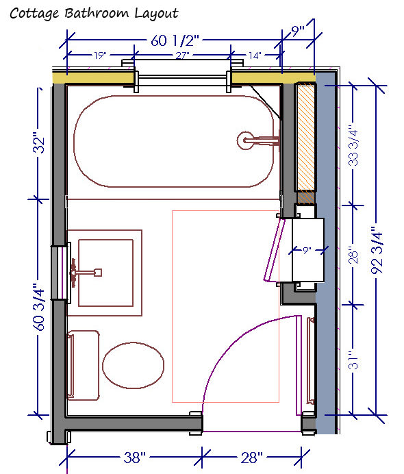 Design Your Bathroom Plan In Any Theme Or Style By Amnafarooq - Design your bathroom layout
