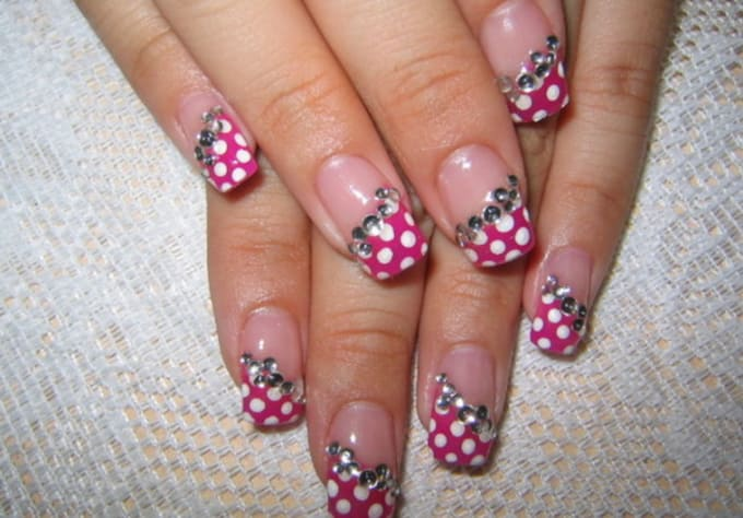 Show You Simple Nail Art Designs With Any Color Or A Combination Of
