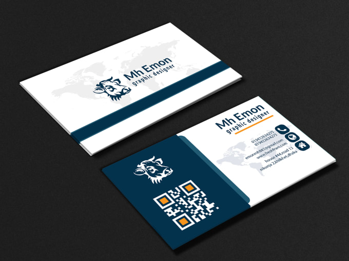 Create Smart Business Card And Stationery By Mosarraf38