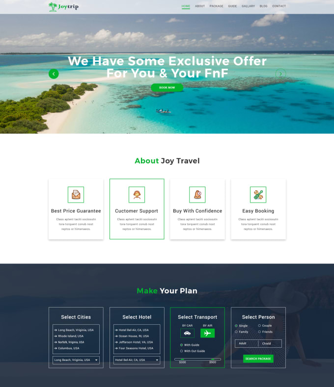 Travel Agency Website >> Design The Best Travel Agency Booking Website By Sabbirmc