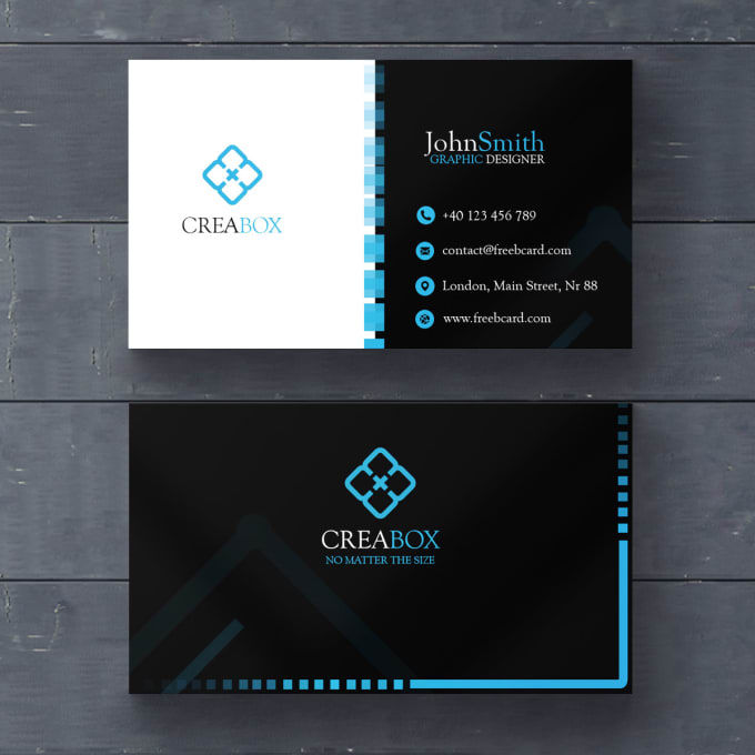 Create Unique Business Card Designs For Your Business By Meeetcreations