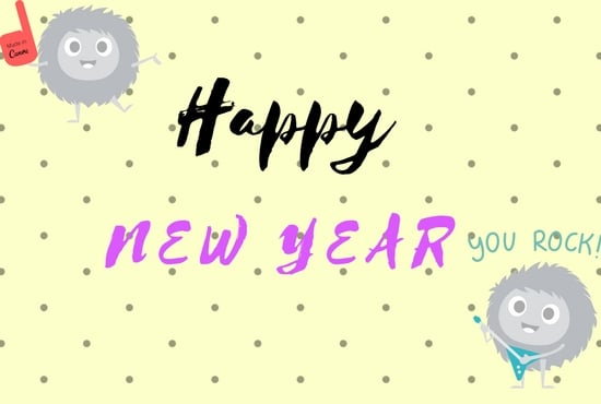design new year wishes for your friendsfamily in 24 hours