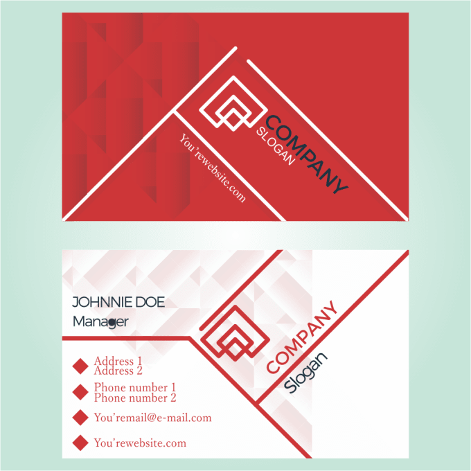 Create A Very Unique Business Card With Two Concepts For You By