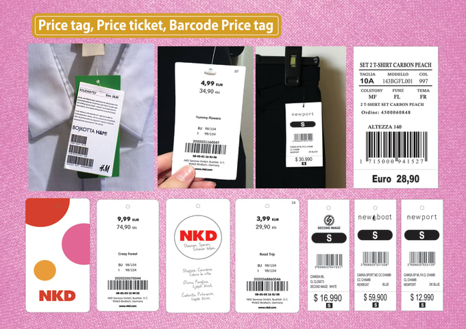 do price tag design for you