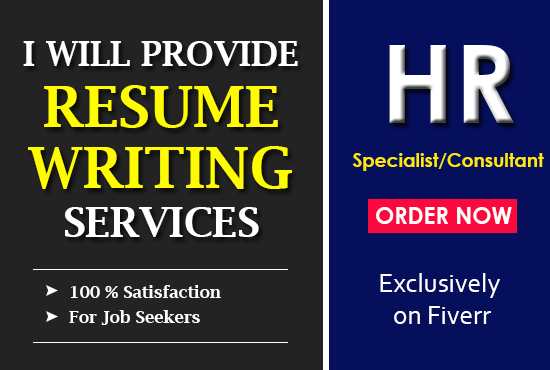 Provide professional resume writing service, cover letter by Zainmasud