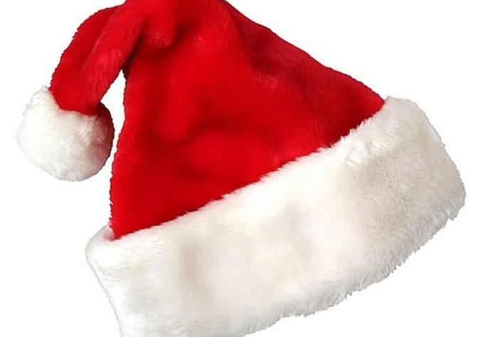 add christmas hat to photo
