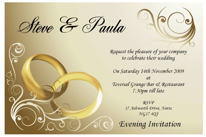 design your dream event stationary invitations or flyers by