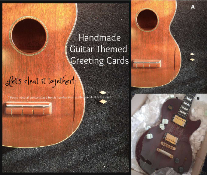 Make you a personalized guitar themed greeting card by guitarfun make you a personalized guitar themed greeting card m4hsunfo