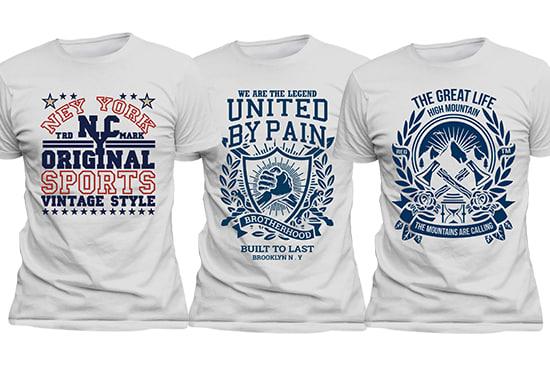 67194e288 Do creative typography original teespring t shirt design by Faruk21