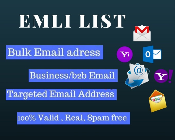 collect any kind of email address