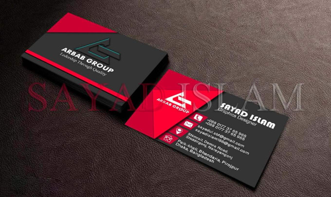 Create attractive business card for your organization by habib82 create attractive business card for your organization colourmoves
