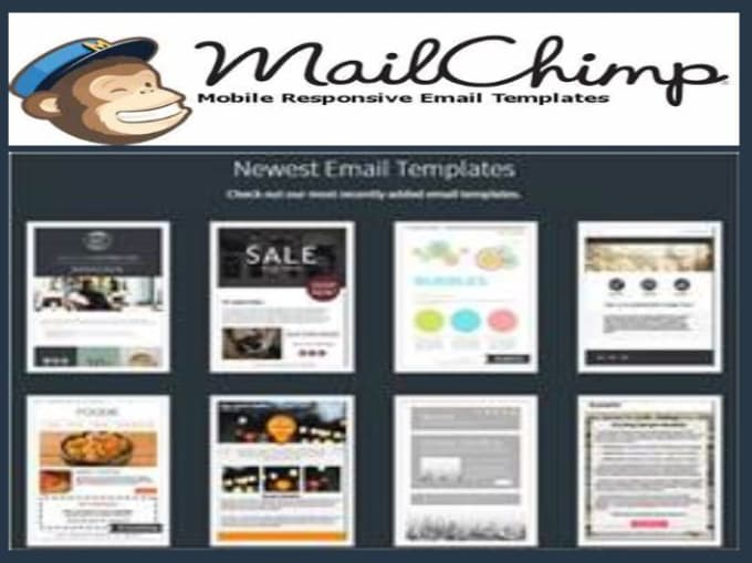 Design Awesome Responsive Html And Mailchimp Email Template By - Mailchimp mobile templates