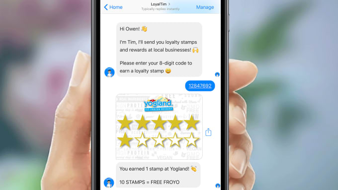 Add your small business loyalty card to the fb messenger app by owenuk add your small business loyalty card to the fb messenger app colourmoves
