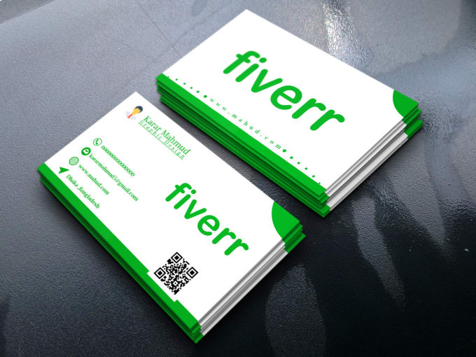 Business card fiverr colourmoves Choice Image